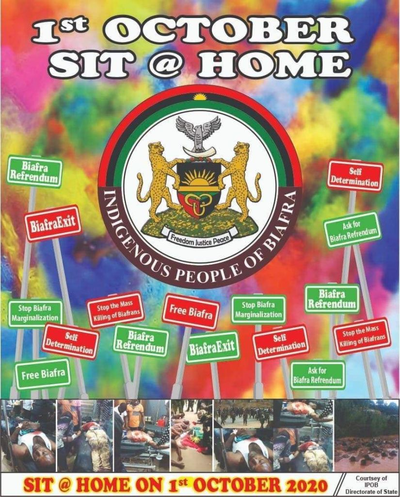 September 30th Broadcast of Mazi Nnamdi Kanu on Radio Biafra