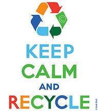 Keep calm en recycle