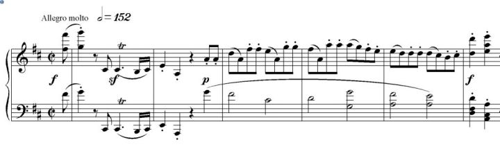 Sinfonia n. 2 esempio nr. 3