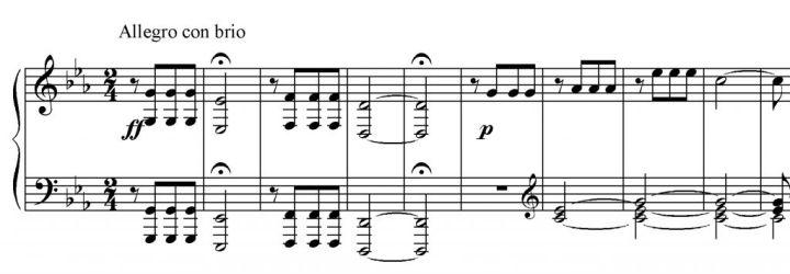 Sinfona n. 5 es. 1