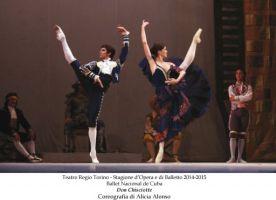 Torino, Teatro Regio, 19 XII 2014 (Don Chisciotte, Ballet Nacional de Cuba) 2