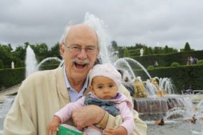 Alan Curtis grand daughter Cornelia Curtis at Versailles in 2013