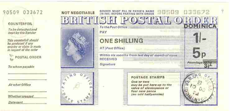 Image result for postal order with stamps