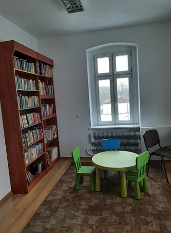 Biblioteka w Milinie -otwarta
