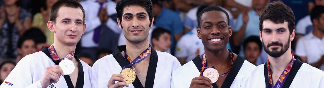 Muhammad Adds Bronze To GB Taekwondo's Euro Games Medal Haul