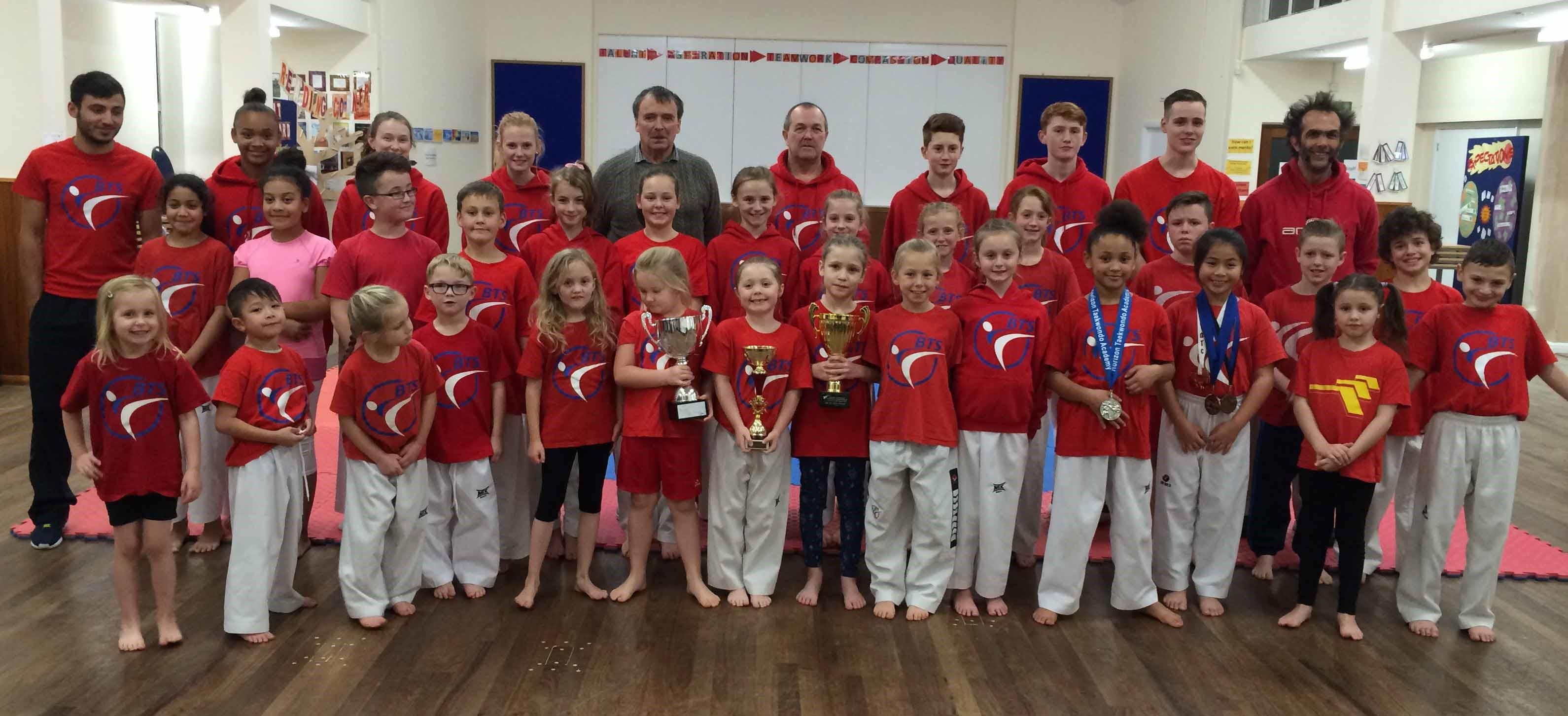 British Taekwondo South (BTS) recognised by GB Taekwondo as latest 'Talent Club'.