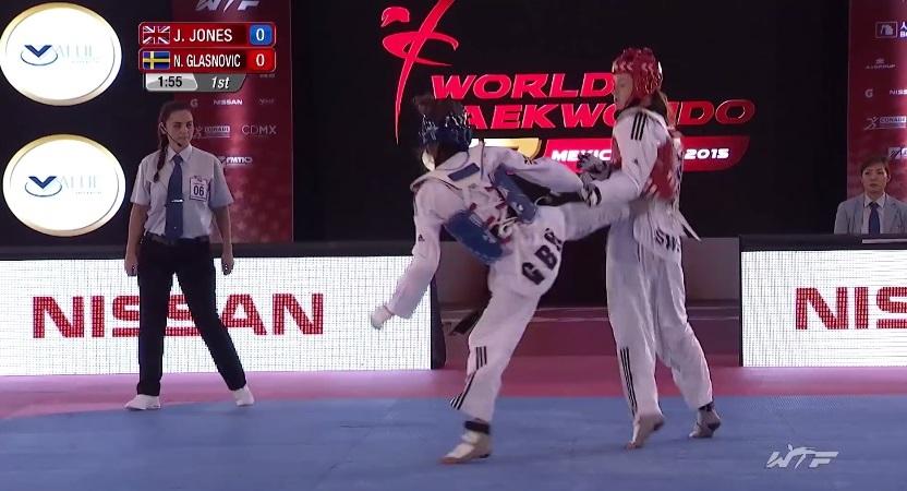 Jade Jones' Bronze Medal Match At Mexico Grand Prix Final (Series 4)
