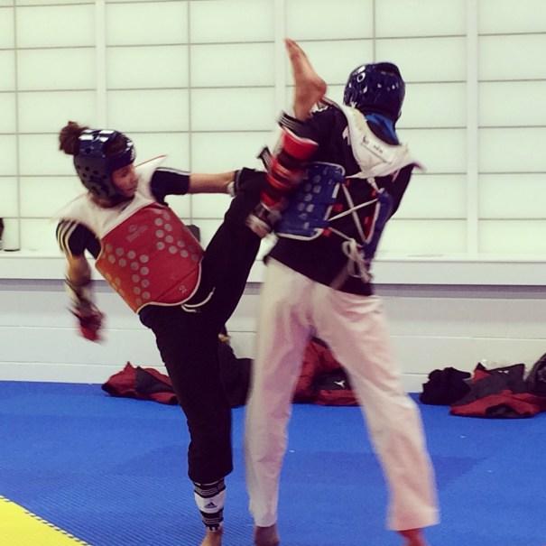 Jade Jones VS Korean Athlete