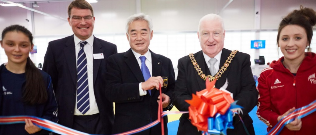 New National Taekwondo Centre Opens To Olympians And Stars Of The Future in Manchester
