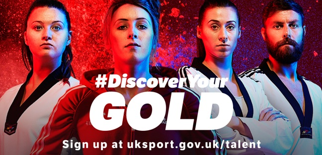 HAVE YOU GOT WHAT IT TAKES TO BE A CHAMPION? FIND OUT WITH #DiscoverYour GOLD