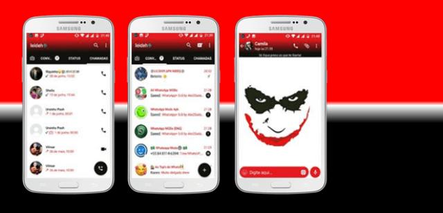 Tema GBWhatsapp - Joker 5