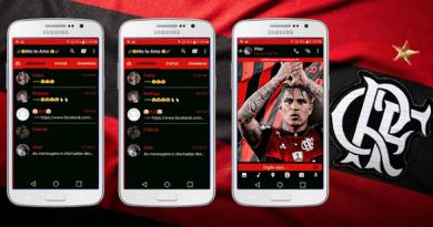 Tema GBWhatsapp – Flamengo Guerreiro