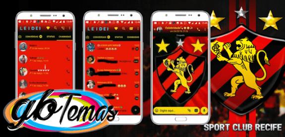 Tema GBWhatsapp – Sport Recife