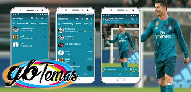 Tema GBWhatsapp – Cristiano Ronaldo l