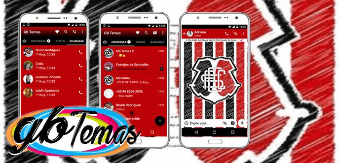 Tema GBWhatsapp – Santa Cruz FC