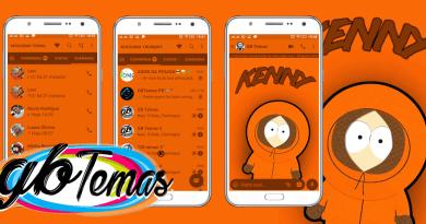 Tema GBWhatsapp - South Park Kenny