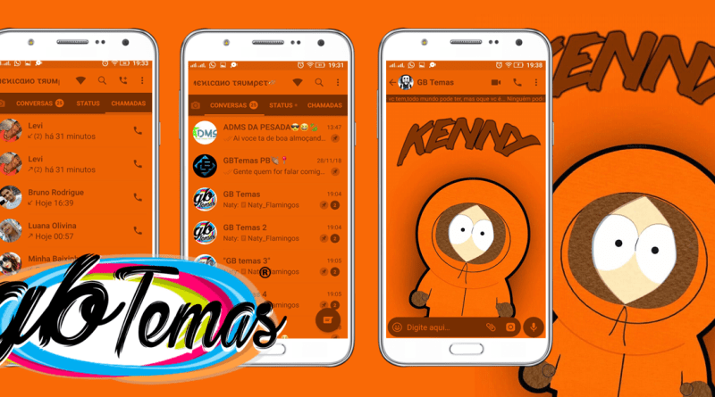 Tema GBWhatsapp - South Park Kenny