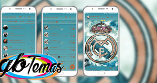 Tema GBWhatsapp - Real Madrid