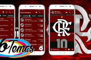 Tema GBWhatsapp - Flamengo 10