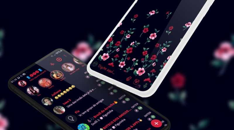 Tema Whatsapp Aero - Flowers 4