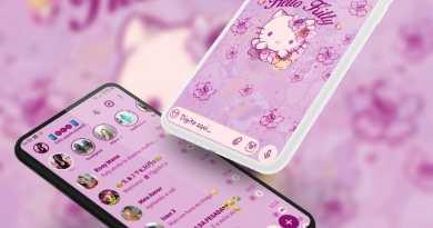Tema Whatsapp Aero - Hello Kitty 2
