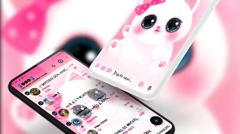 Tema Whatsapp Aero - Cute Cat 2