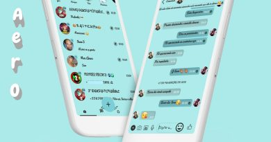 Tema Whatsapp Aero - Simple Delicate