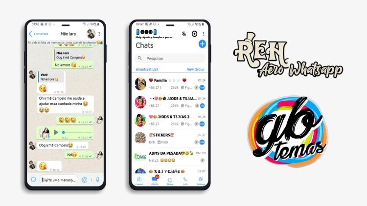 Tema Whatsapp Aero - IOS