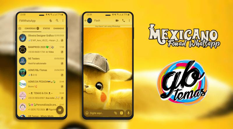 Tema Fouad Whatsapp - Pikachu 3D