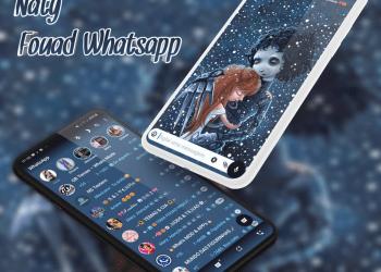 Tema Fouad Whatsapp - Edward Scissor Hands