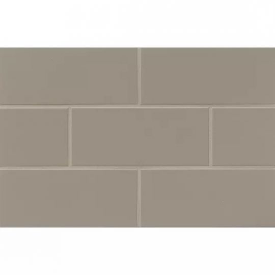 bedrosians traditions taupe matte 4 x 10 wall tile