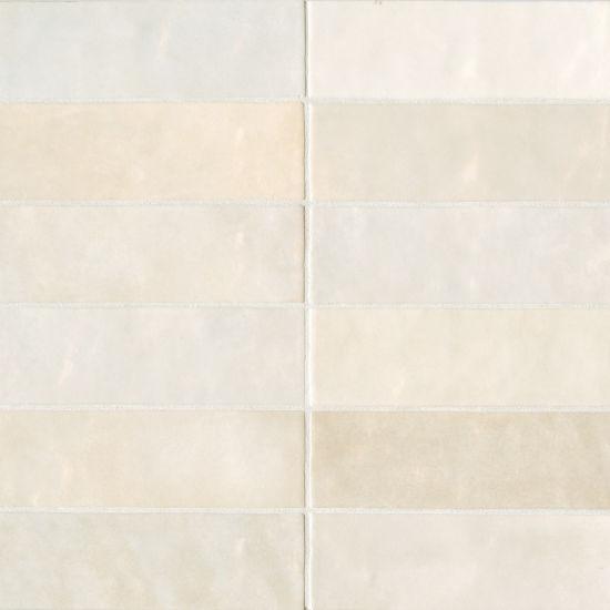 bedrosians cloe creme 2 5 x 8 gloss ceramic wall tile