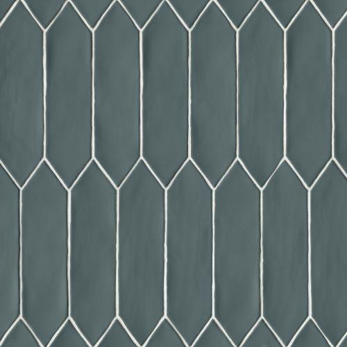 bedrosians reine gentlemen grey matte 3 x 12 picket wall tile