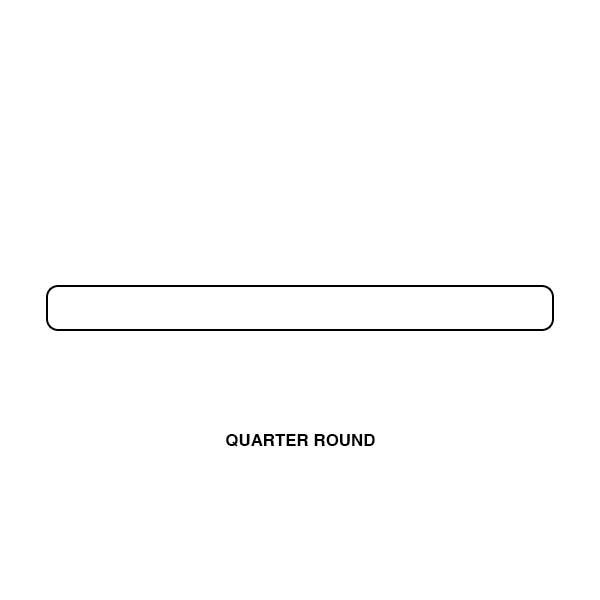 tesoro crayons bright white 0 5 x 12 quarter round