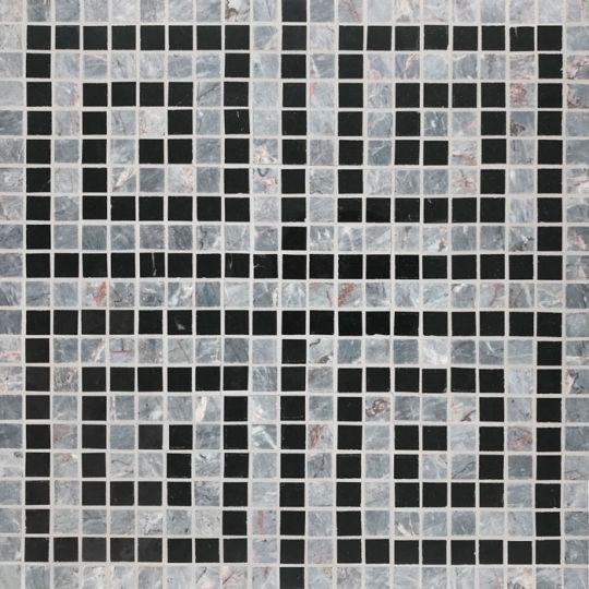 basic stone mosaics greek key