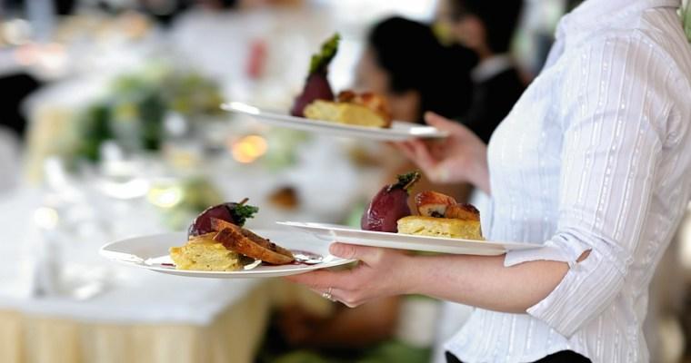 Menu avec service à table