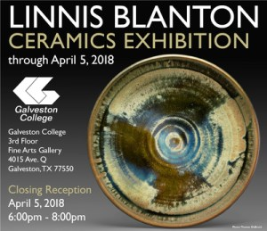 Gallery Exhibition Features Work of Ceramics Artist Linnis Blanton