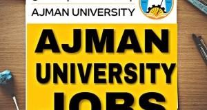 Vacancies at Ajman University