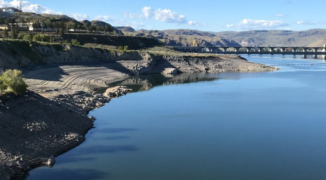 Lake Roosevelt water level rising with spring runoff
