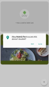 Mobile Wallet - Android Pay