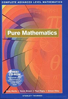 'Complete Advanced Level Mathematics' Pure Mathematics by Andy Martin - Kevin Brown _Simon Ailey