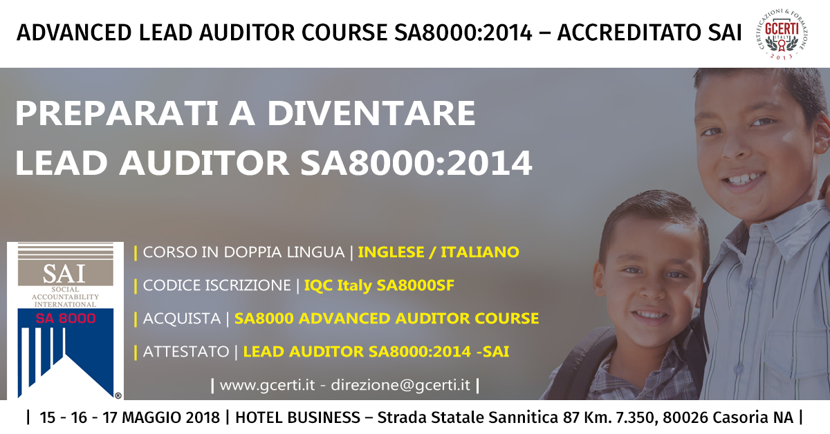 Auditor Advanced Coruse SA8000