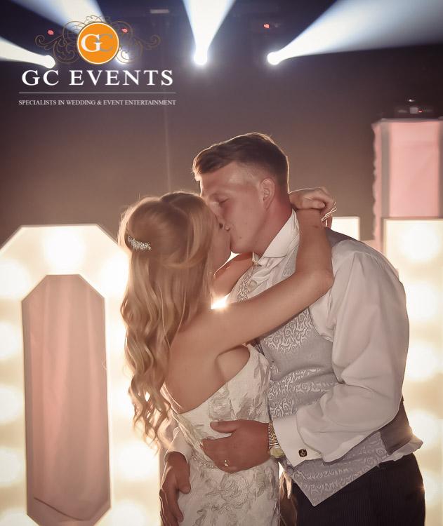Bride and Groom first dance - GC Events Wedding DJ Derby