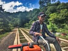 Battambang bamboo railway