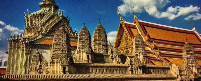 Model of Angkor Wat at the Grand Palace