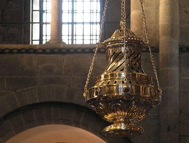 O botafumeiro da catedral de Santiago. / LMBS