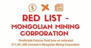 SPF Red List - Mongolian Mining