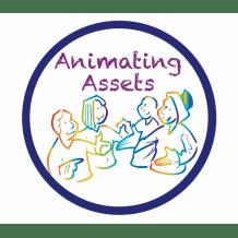 Animating assets logo