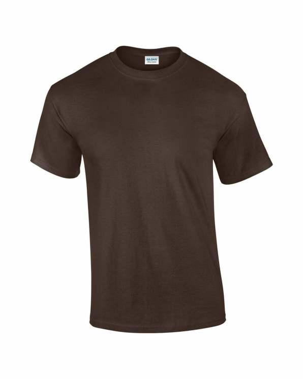 Mens T-shirt chocolate