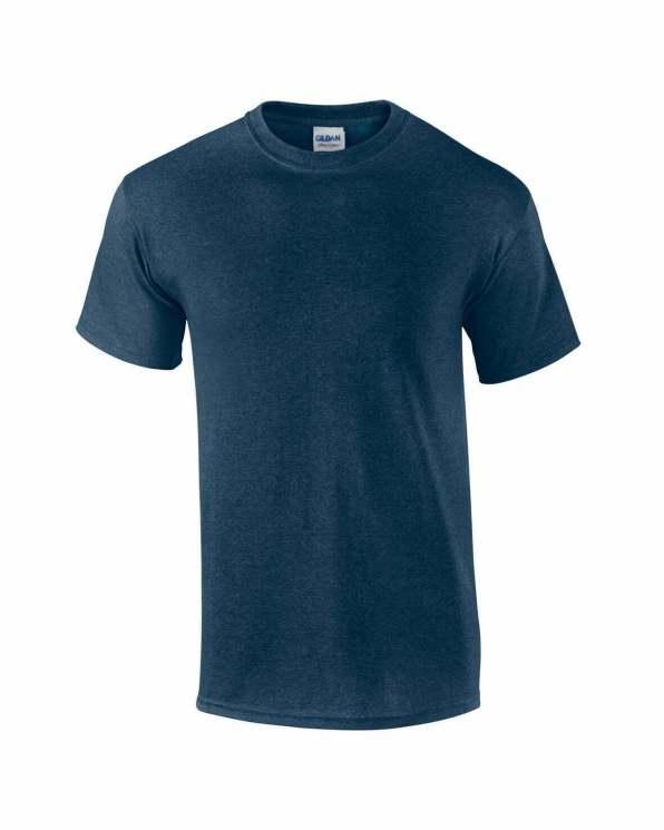 Mens T-shirt heather navy